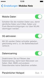 Apple iPhone 5 - Ausland - Auslandskosten vermeiden - 6 / 7