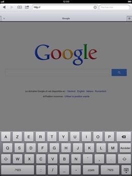 Apple iPad Retina - Internet et roaming de données - Navigation sur Internet - Étape 10