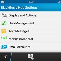 BlackBerry Q10 - MMS - Manual configuration - Step 5