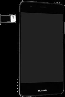 Huawei Nova - SIM-Karte - Einlegen - Schritt 6
