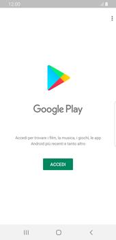 Samsung Galaxy S9 - Android Pie - Applicazioni - Configurazione del negozio applicazioni - Fase 4