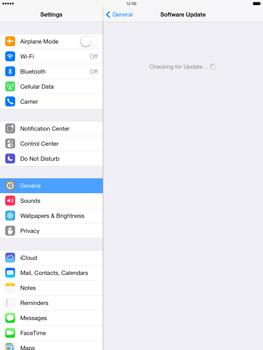 Apple iPad mini retina - Software - Installing software updates - Step 6