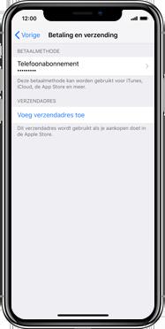 Apple iPhone SE (2020) (Model A2296) - Applicaties - Aankopen doen in de App Store met je KPN abonnement - Stap 12
