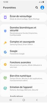 Samsung Galaxy A40 - Sécuriser votre mobile - Personnaliser le code PIN de votre carte SIM - Étape 4