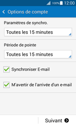 Samsung G318H Galaxy Trend 2 Lite - E-mail - Configurer l