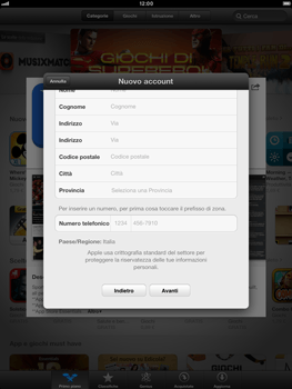 Apple iPad mini - Applicazioni - Configurazione del negozio applicazioni - Fase 21