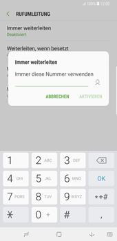Samsung Galaxy S9 Plus - Anrufe - Rufumleitungen setzen und löschen - Schritt 10