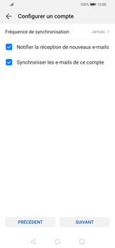 Huawei P Smart 2020 - E-mails - Ajouter ou modifier un compte e-mail - Étape 17