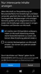 Microsoft Lumia 650 - Apps - Konto anlegen und einrichten - 17 / 20