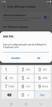 Samsung Galaxy J6 Plus - Beveiliging - pas de pincode voor je simkaart aan - Stap 9