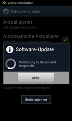 Samsung Galaxy S II - Software - Installieren von Software-Updates - Schritt 8
