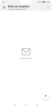 Huawei P20 Pro Android Pie - E-mail - 032b. Email wizard - Yahoo - Étape 3
