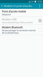 Samsung Galaxy A5 (A500FU) - Internet et connexion - Partager votre connexion en Wi-Fi - Étape 5
