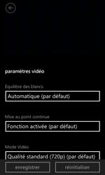 Nokia Lumia 625 - Photos, vidéos, musique - Créer une vidéo - Étape 9