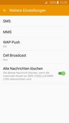 Samsung G920F Galaxy S6 - SMS - Manuelle Konfiguration - Schritt 7