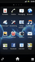 Sony Xperia U - WLAN - Manuelle Konfiguration - Schritt 3