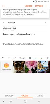 Samsung Galaxy J6 Plus - E-mails - Envoyer un e-mail - Étape 13