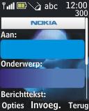 Nokia 2690 - E-mail - hoe te versturen - Stap 7