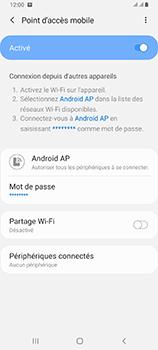Samsung Galaxy A80 - WiFi - Comment activer un point d'accès WiFi - Étape 13