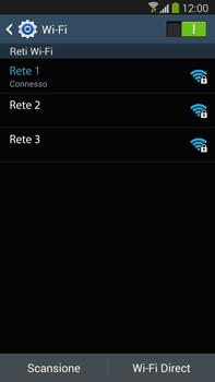 Samsung Galaxy Note III LTE - WiFi - Configurazione WiFi - Fase 8