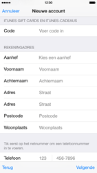 Apple iPhone 6 iOS 8 - Applicaties - Account aanmaken - Stap 20