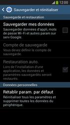 Samsung G386F Galaxy Core LTE - Téléphone mobile - réinitialisation de la configuration d