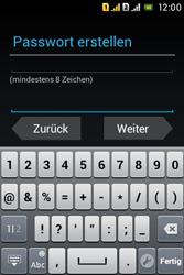 Sony Xperia Tipo Dual - Apps - Konto anlegen und einrichten - 13 / 29