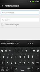 HTC One Mini - E-Mail - Manuelle Konfiguration - Schritt 6