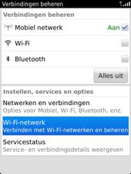 BlackBerry 9810 Torch - wifi - handmatig instellen - stap 4