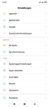 Xiaomi Mi Mix 3 5G - Apps - Eine App deinstallieren - Schritt 3