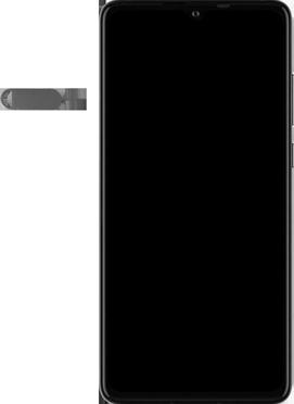 Huawei P30 - Premiers pas - Insérer la carte SIM - Étape 2