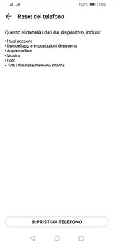 Huawei P30 Lite - Dispositivo - Ripristino delle impostazioni originali - Fase 7