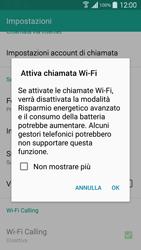 Samsung Galaxy S 5 - WiFi - Attivare WiFi Calling - Fase 7