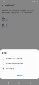 Samsung Galaxy Note 20 Ultra 5G - WiFi - Activez WiFi Calling - Étape 8