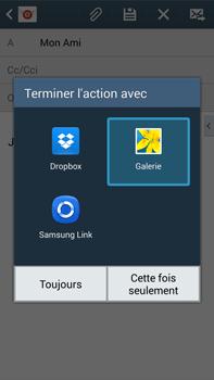 Samsung N9005 Galaxy Note III LTE - E-mail - Envoi d