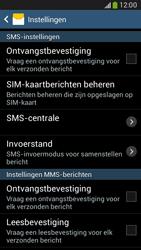 Samsung G386F Galaxy Core LTE - SMS - SMS-centrale instellen - Stap 8