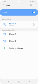 Samsung Galaxy S20+ - Internet et connexion - Accéder au réseau Wi-Fi - Étape 9