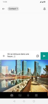 OnePlus 7 - Contact, Appels, SMS/MMS - Envoyer un MMS - Étape 9