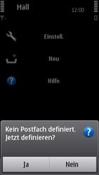 Nokia N8-00 - E-Mail - Konto einrichten - Schritt 5
