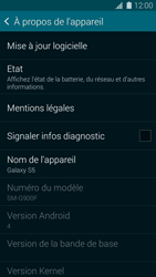 Samsung G900F Galaxy S5 - Appareil - Mises à jour - Étape 6