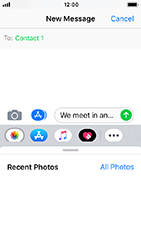 Apple iPhone 5s - iOS 12 - MMS - Sending pictures - Step 8