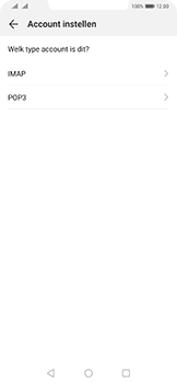 Huawei mate-20-pro-dual-sim-lya-l29 - E-mail - Account instellen (POP3 zonder SMTP-verificatie) - Stap 7