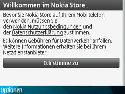 Nokia E71 - Apps - Konto anlegen und einrichten - Schritt 14