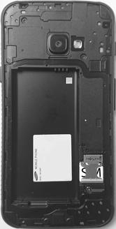 Samsung G390F Galaxy Xcover 4 - SIM-Karte - Einlegen - Schritt 4