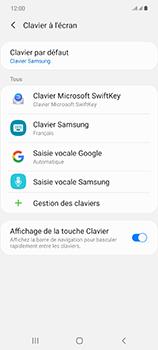Samsung Galaxy Note 20 5G - Prise en main - Comment ajouter une langue de clavier - Étape 7