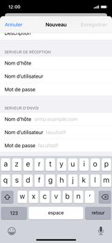 Apple iPhone 11 Pro - E-mails - Ajouter ou modifier un compte e-mail - Étape 13