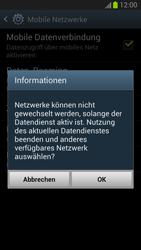 Samsung I9300 Galaxy S3 - Netzwerk - Netzwerkeinstellungen ändern - Schritt 8