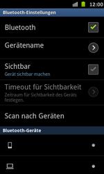 Samsung Galaxy S Advance - Bluetooth - Verbinden von Geräten - Schritt 7