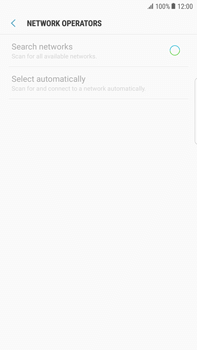 Samsung Samsung G928 Galaxy S6 Edge + (Android N) - Network - Manually select a network - Step 8