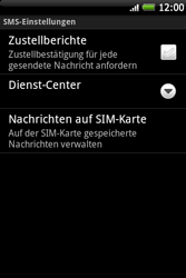 HTC A510e Wildfire S - SMS - Manuelle Konfiguration - Schritt 7
